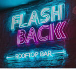 🦩🌸 Flashback Rooftop Bar ฟลามิงโก้บนรูฟท็อปบาร์  🎡✨